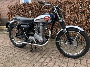 Picture of BSA CLIPPER GOLDSTAR BB34 500 1957 For Sale