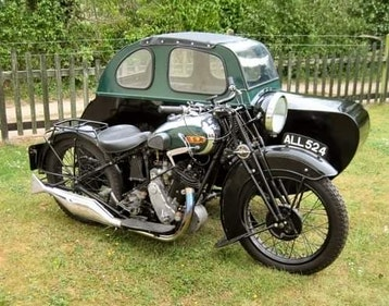 Picture of 1933 BSA Sloper with Watsonian sidecar For Sale
