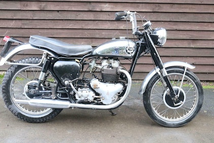 Picture of BSA A10 A 10 Super Road Rocket 1958 US Import Runs and Rides For Sale