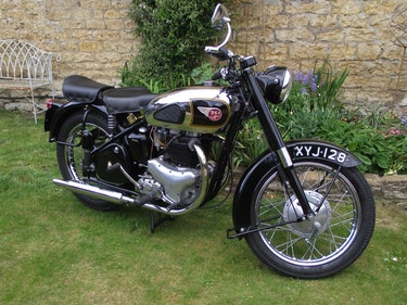 Picture of 1956 BSA A10 Gold Flash 650 cc For Sale
