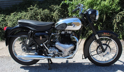 Picture of 1959 BSA Gold Flash A10 650 cc Export Model For Sale