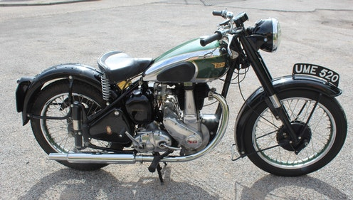 Picture of 1949 BSA B31 350 cc OHV Plunger , Beautiful BSA Single For Sale