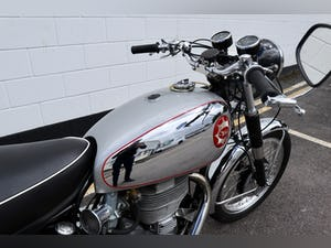 1957 BSA DB32 Gold Star 350cc. In excellent condition For Sale (picture 20 of 23)