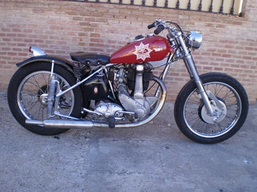Picture of Bsa b31 destryo 350cc. Ohv  year 1953 bobber For Sale