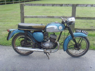 Picture of 1969 BSA Bantam B175. For Sale