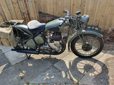 Picture of 1939 Bsa wm20 500cc (side-valve) running For Sale