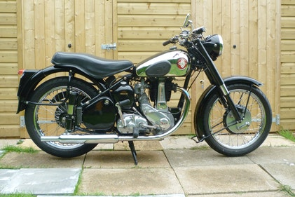 Picture of 1953 BSA B31 PLUNGER (c/w original headlight cowl) For Sale