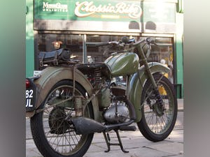 1952 BSA Bantam Early D1 Model 125cc Running Oily Rag Condition. For Sale (picture 1 of 10)