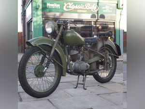 1952 BSA Bantam Early D1 Model 125cc Running Oily Rag Condition. For Sale (picture 2 of 10)