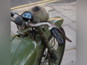 1952 BSA Bantam Early D1 Model 125cc Running Oily Rag Condition. For Sale (picture 3 of 10)
