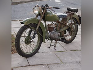 1952 BSA Bantam Early D1 Model 125cc Running Oily Rag Condition. For Sale (picture 4 of 10)
