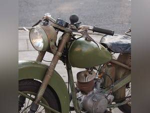 1952 BSA Bantam Early D1 Model 125cc Running Oily Rag Condition. For Sale (picture 5 of 10)