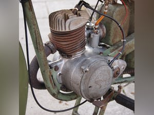 1952 BSA Bantam Early D1 Model 125cc Running Oily Rag Condition. For Sale (picture 6 of 10)