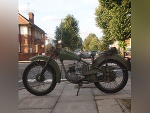 1952 BSA Bantam Early D1 Model 125cc Running Oily Rag Condition. For Sale (picture 9 of 10)