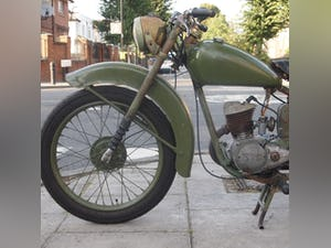 1952 BSA Bantam Early D1 Model 125cc Running Oily Rag Condition. For Sale (picture 10 of 10)