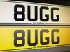 8 UGG Personal Number Plate Perfect For A Bugatti!