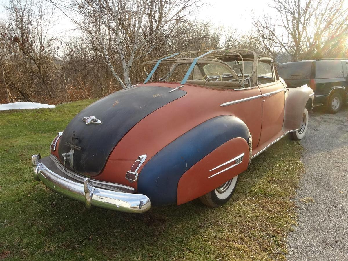 1941 Buick Roadmaster Convertible Coupe (76C) Rare For Sale (picture 2 of 6)