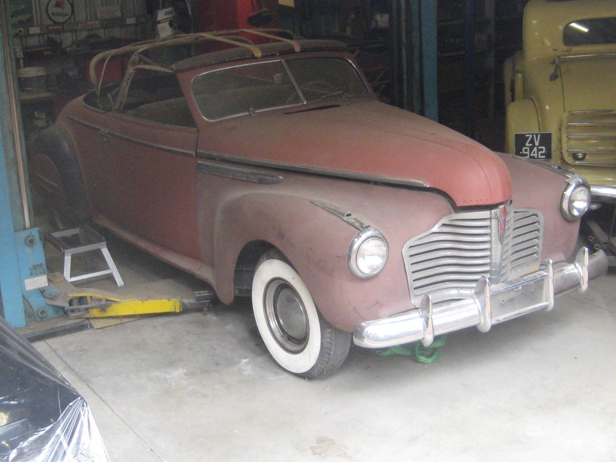1941 Buick Roadmaster Convertible Coupe (76C) Rare For Sale (picture 3 of 6)