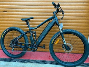 2021 E-BIKE ELECTRIC BRAND NEW MOUNTAIN BIKE IDEAL CAMPER / CARAV For Sale (picture 1 of 5)