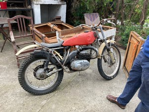 1976 Project bultaco sherpa 92 350cc For Sale (picture 2 of 8)