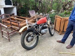 1976 Project bultaco sherpa 92 350cc For Sale (picture 4 of 8)