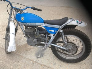 1974 Bultaco 250 trial bike, road reg'ed with V5, £2395. For Sale (picture 1 of 3)