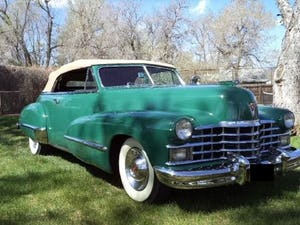 1947 Cadillac 62 Convertible For Sale (picture 1 of 6)