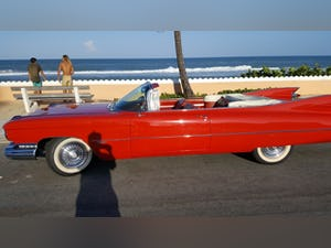 1959 Cadillac deVille Convertible .. RED For Sale (picture 1 of 6)