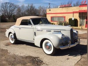 1940 Cadillac LaSalle Convertible For Sale (picture 1 of 6)
