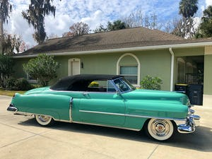 1950 Cadillac series 62 cabrio For Sale (picture 7 of 12)