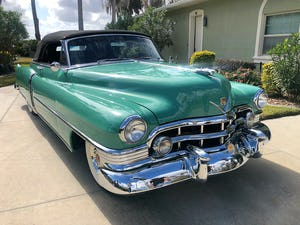 1950 Cadillac series 62 cabrio For Sale (picture 8 of 12)