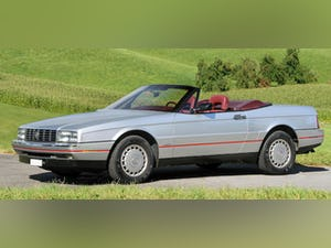 1987 Cadillac Allante Convertible only 7600 miles For Sale (picture 1 of 6)