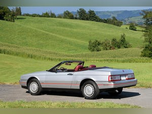 1987 Cadillac Allante Convertible only 7600 miles For Sale (picture 3 of 6)