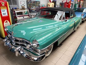 1950 Cadillac series 62 cabrio For Sale (picture 1 of 12)