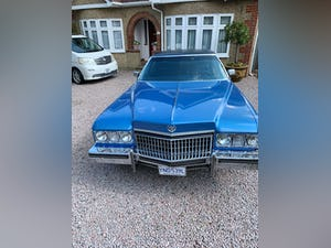 1973 Cadillac Fleetwood  For Sale (picture 1 of 12)
