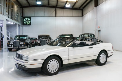 Picture of 1993 Cadillac Allante Convertible    Only 14,009 actual mile For Sale