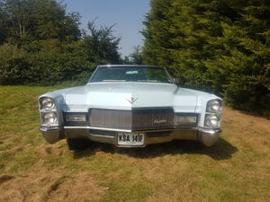 1968 Cadillac DeVille Convertible For Sale (picture 1 of 12)