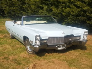 1968 Cadillac DeVille Convertible For Sale (picture 2 of 12)