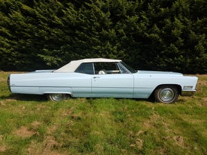1968 Cadillac DeVille Convertible For Sale (picture 4 of 12)