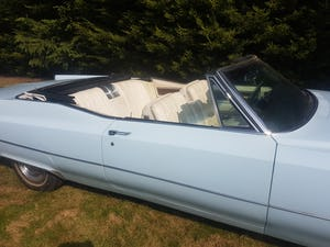 1968 Cadillac DeVille Convertible For Sale (picture 7 of 12)