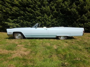 1968 Cadillac DeVille Convertible For Sale (picture 8 of 12)