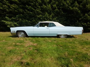 1968 Cadillac DeVille Convertible For Sale (picture 9 of 12)