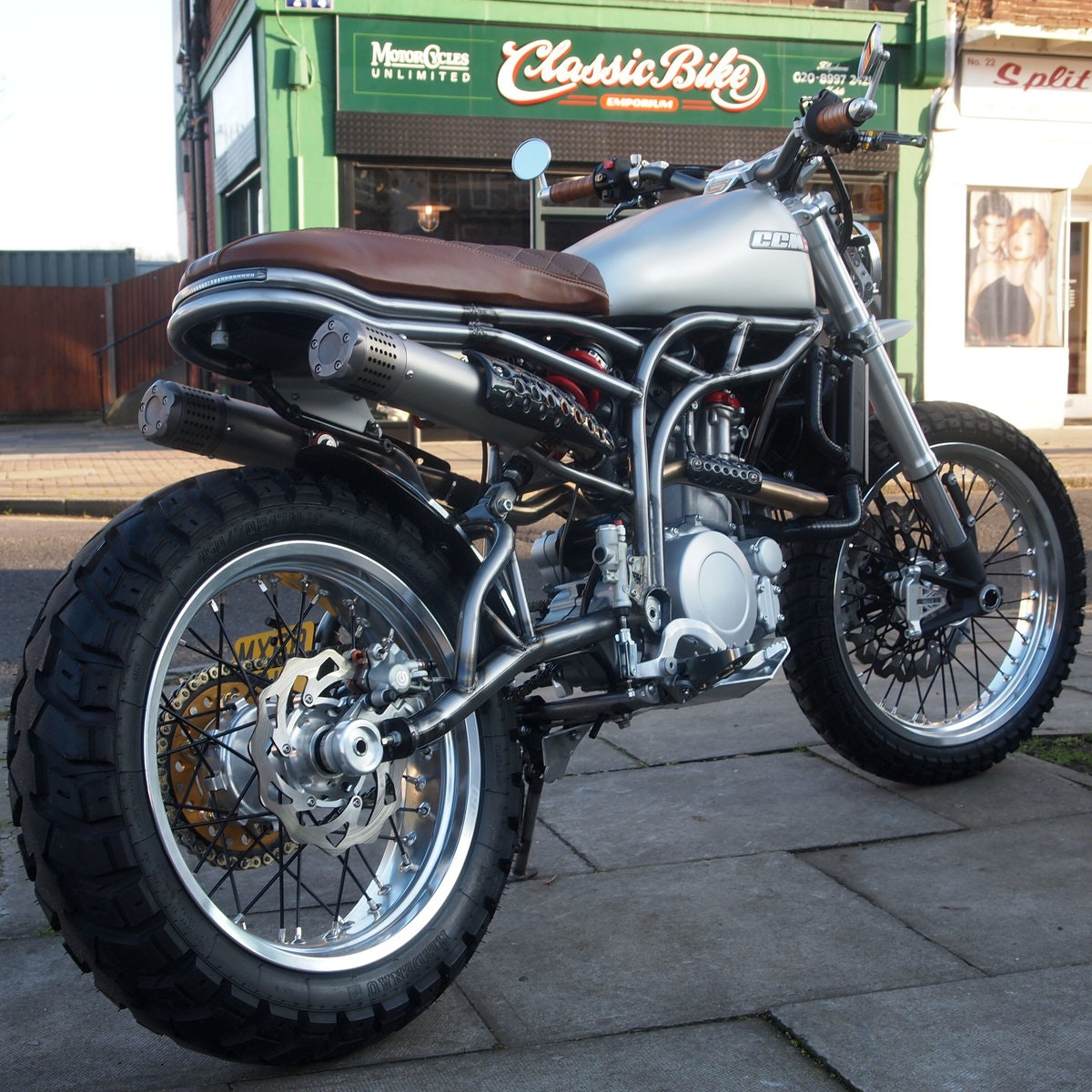 2018 CCM 600cc Spitfire Scrambler, RESERVED FOR ANDY. SOLD (picture 1 of 6)