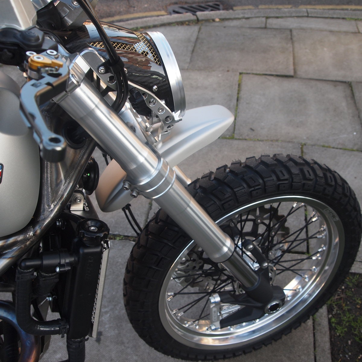 2018 CCM 600cc Spitfire Scrambler, RESERVED FOR ANDY. SOLD (picture 6 of 6)