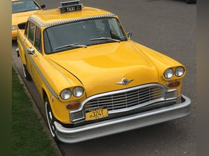 1981 New York checker and crown Victoria  taxi hire For Hire (picture 1 of 6)