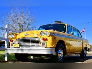 1981 New York checker and crown Victoria  taxi hire For Hire (picture 2 of 6)