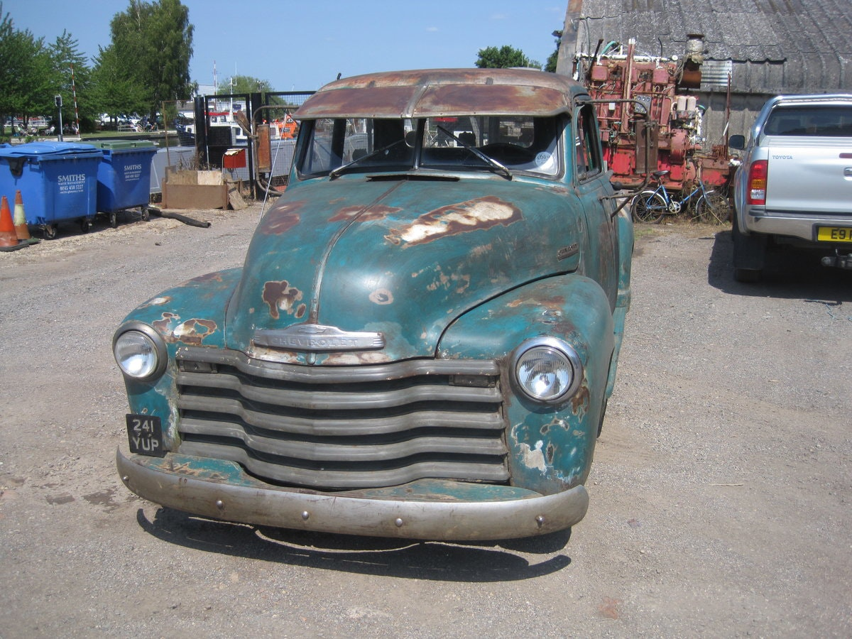 1952 Chevrolet  3100 pick up SOLD (picture 1 of 6)