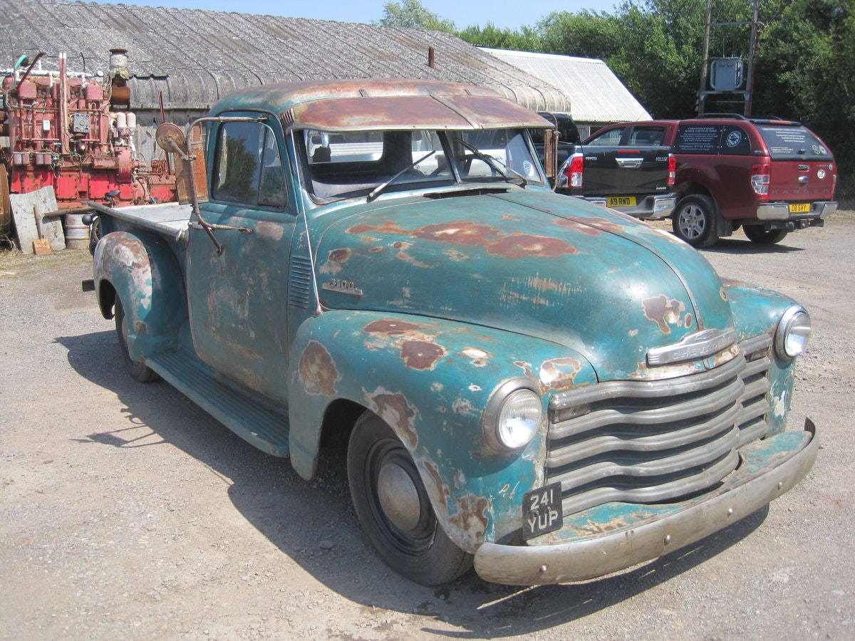 1952 Chevrolet  3100 pick up SOLD (picture 2 of 6)
