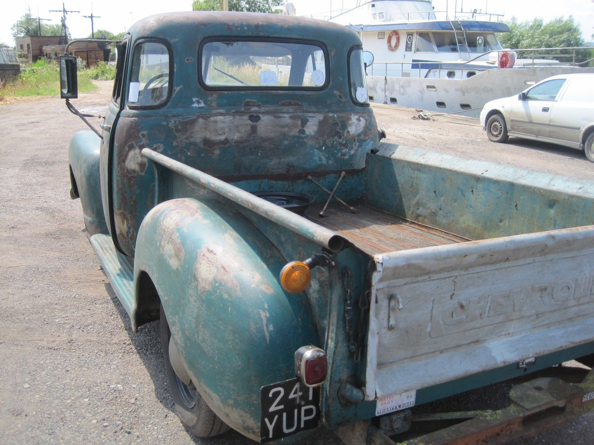 1952 Chevrolet  3100 pick up SOLD (picture 4 of 6)
