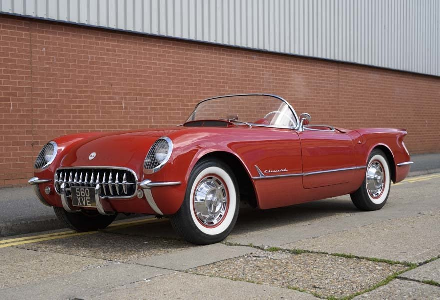 1954 Chevrolet Corvette C1 ( LHD ) For Sale (picture 1 of 22)